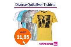 Dagaanbieding Quiksilver T-shirt uitverkoop