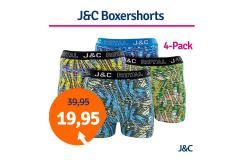 Dagaanbieding JC boxershorts Urban 4-pack