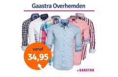 Dagaanbieding Gaastra overhemden outlet