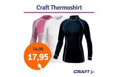 Dagaanbieding Craft thermoshirt dames