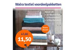 Dagaanbieding Walra Textiel Voordeelpakket