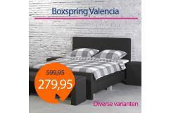 Dagaanbieding Boxspring Valencia