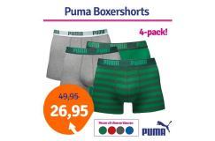 Dagaanbieding Puma boxershorts Stripe 4-pack