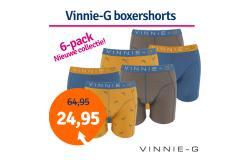 Dagaanbieding Vinnie-G boxershorts Wakeboard 6-pack