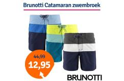 Dagaanbieding Brunotti Catamaran zwembroek