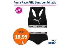Dagaanbieding Puma Racer/Hip Band combinatie