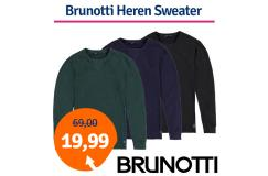 Dagaanbieding Brunotti Nicco Heren Sweater