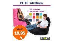 Dagaanbieding Ploff Zitzakken (alle modellen)