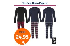 Dagaanbieding Ten Cate Heren Pyjama