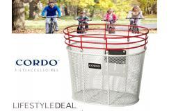 Cordo Trendy fietsmand