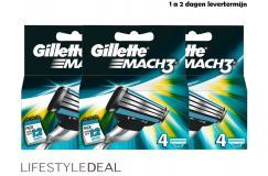 Original Gillette Mach3 4-pack