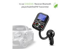 DAB+ Digitale Radio met Fm-zender Lcd-scherm Bluetooth handsfree Kit en USB lader