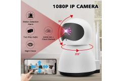 Full HD Home Security IP 360° WIFI IP-1080p beveiligingscamera, met 2 weg Audio, en met Nachtzicht