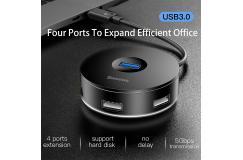 USB 3.0 Hub Adapter - 4 Poort - voor Macbook Pro