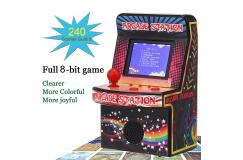 Mini Arcade Draagbare Retro Game Console 8-Bit met ingebouwd 240 Klassieke Games
