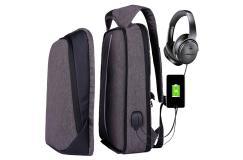 Anti-diefstal rugzak 17.3 inch en met externe USB en hoofdtelefoonaansluiting