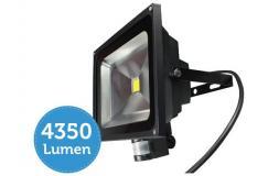 50W Quintezz LED-floodlight met sensor