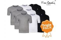 3-Pack Pierre Cardin T-Shirts Heren