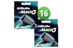 Gillette Combi Scheermesjes Mach3 16 mesjes (2x8)