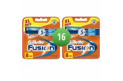 Gillette Combi Scheermesjes Fusion 16 stuks = 2 x 8 mesjes