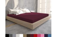 Vanaf €12,95 ipv €59,95 - TWEE luxe hoeslakens van Jersey kwaliteit, gemaakt van 100 % katoen; 13 verschillende kleuren!