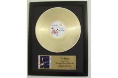159 euro ipv 279 euro Gouden plaat Prince o.a. 1999 en Purple Rain