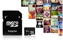 4.95 euro ipv 39,95 euro - 32GB Micro SD kaart incl gratis adapterschuifje om er normale SD van te maken!