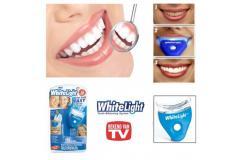 6.95 eur ipv 39 euro - WhiteLight tandenbleekset - Eenvoudig wittere tanden !