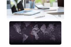 Wereldkaart Bureau-onderlegger