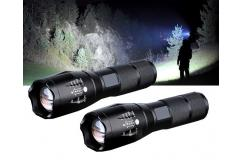 2-Pack Militaire Zaklampen