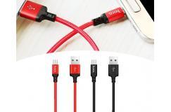 Gevlochten USB-Oplaadkabel