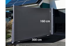 Uitrolbaar Windscherm (HxB) 160 x 300 cm - Gratis Verzonden
