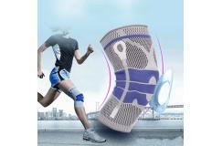 Verstevigende knieband voor dagelijks gebruik of bij het sporten
