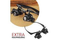 Reparatiebril met LED-lampjes: voor nauwkeurige reparaties!