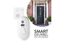 Smart deurbel; op je telefoon zien wie er aanbelt
