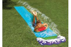 Waterglijbaan van 488 cm lang met drenkbad