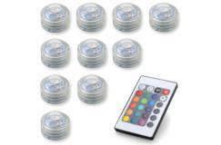 10 kleur-veranderende led lampjes met afstandsbediening