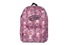 Realm Backpack Black/Coral