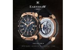 Thomas Earnshaw Invincible Swiss Made Automatic   ES-0015-01