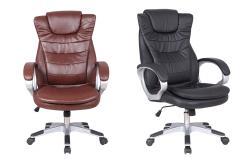 Zeer luxe bureaustoel in 2 kleuren