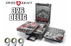 Swisskraft gereedschapstrolley - 326-delig