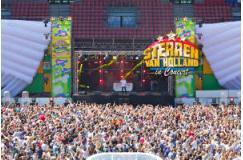 2 tickets voor Sterren van Holland Outdoor in Amsterdam