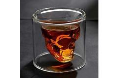 Skull Glass - Whiskey Glas