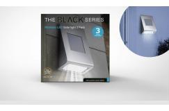 3-pack XL Solar buitenlamp