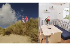 Luxe stacaravan Belgische kust