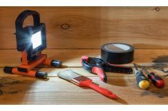Oplaadbare led werklamp 10W