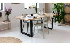Woodcraft eikenhouten tafel