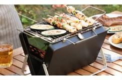 Draagbare houtskoolbarbecue
